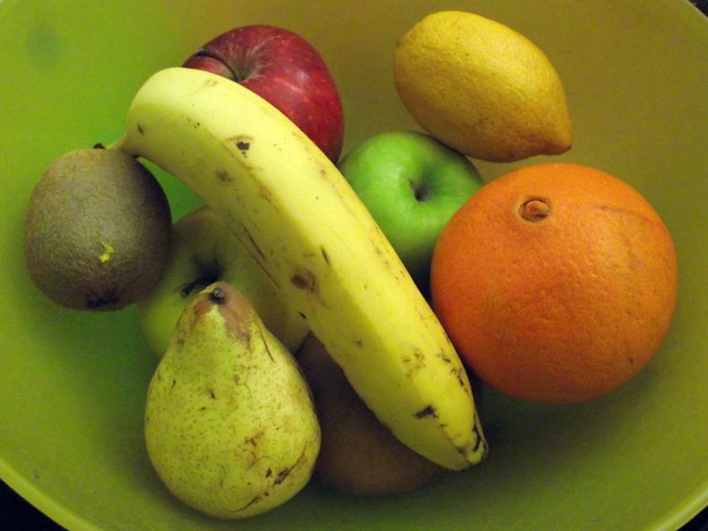 7 - Fruta